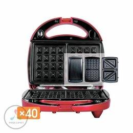 Сэндвичницы и приборы для выпечки - Мультипекарь Redmond RMB-M6012, 0