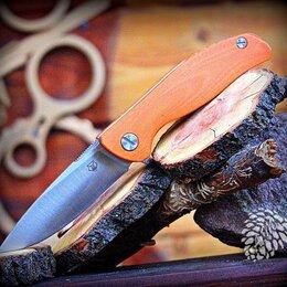 Ножи и мультитулы - Нож складной F3-OR Широгоровых (на подшипнике)…, 0