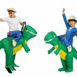 Карнавальные и театральные костюмы - Надувной костюм Верхом на динозавре, 0