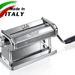 Пельменницы, машинки для пасты и равиоли - Marcato Classic Atlas 180 Roller ручная тестораскаточная машина без лапшерезки, 0