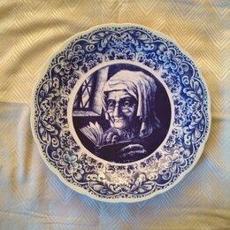 Декоративная посуда - тарелки настенные Delft(Голландия) винтаж 9 штук, 0