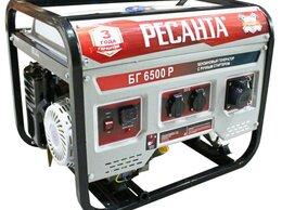 Электрогенераторы - Генератор бензиновый БГ 6500 Р Ресанта, 0