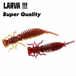 Приманки и мормышки - Larva 62/85 мм 10 цветов, 0