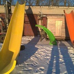 Игровые домики и палатки - Зимние детские горки скаты спуски из стеклопластика, 0