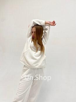 Спортивные костюмы - Костюм спортивный женский-Белый, 0