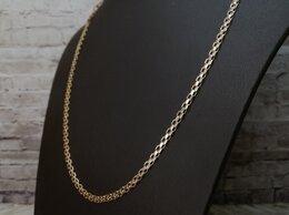Цепи - Золотая цепь 585 пробы, массой 8,4 грамма. Длина…, 0