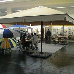 Мебель для учреждений - Зонты 3х3 м. и 4х4 м. для кафе, пляжей, ресторанов, 0