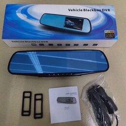 Автоэлектроника и комплектующие - Зеркало регистратор с задней камерой , 0