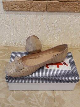 Балетки - Балетки (туфли) новые р.40 натуральная кожа, 0