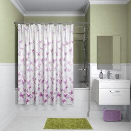 Шторы и карнизы - Штора для ванной комнаты Iddis B01P118i11…, 0