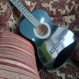 Акустические и классические гитары - Гитара Belucci чёрная, 0