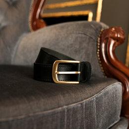 Ремни и пояса - Ремень мужской кожаный ручной работы , 0