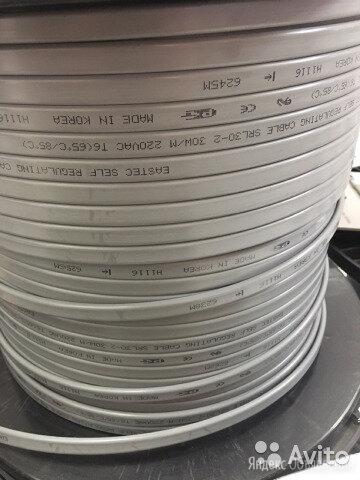 Саморегулирующийся кабель SRL 30-2 по цене 150₽ - Комплектующие водоснабжения, фото 0