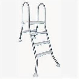 Лестницы и поручни - Лестница для сборного бассейна Kripsol SEMIELEVATED 3+1 ст, 0