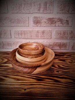 Тарелки - посуда/тарелки из дерева, 0