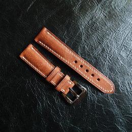 Ремешки для часов - Кожаный ремешок для часов ручной работы, 0