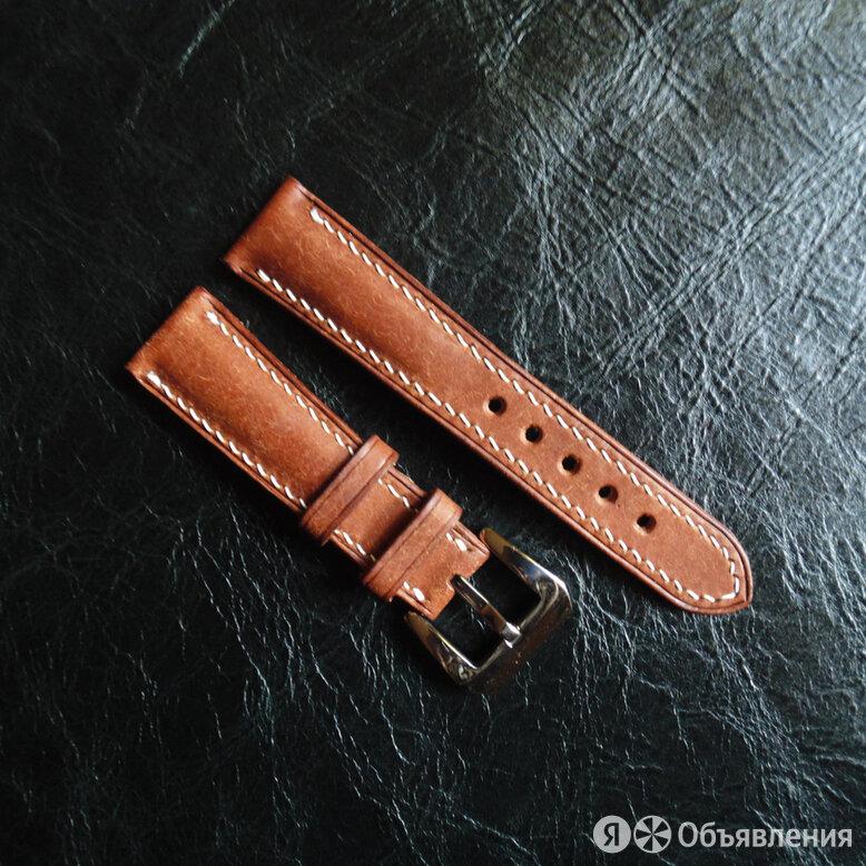 Кожаный ремешок для часов ручной работы по цене 1400₽ - Ремешки для часов, фото 0