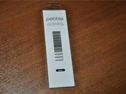 Аксессуары для умных часов и браслетов - Pebble Time Steel Metal Band - Silver 22mm (новый), 0