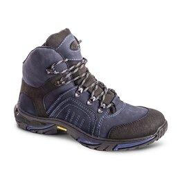 Ботинки - Ботинки «Страйкер» зима (натуральный мех) Синий 584-7 ХСН, 0