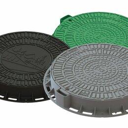 Садовые дорожки и покрытия - Люк садовый пластиковый зелёный, 0