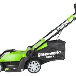 Газонокосилки - Газонокосилка электрическая Greenworks GLM1241, 0