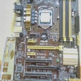 Материнские платы - Сокет 1150 комплект материнская плата и процессор i7, 0