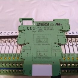 Реле - Релейный модуль PLC-BSC с реле от PHOENIX CONTACT., 0