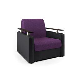 Кресла - Кресло-кровать «Шарм» фиолетовая рогожка и…, 0