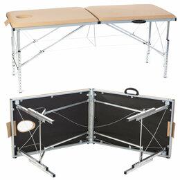 Оборудование для аппаратной косметологии и массажа - Гелиокс ТМИ185 – складной массажный стол, 0