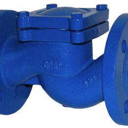Запорная арматура - RD16F-200 - Обратный клапан подъемный Ду 200 Ру 16 ф/ф чугун GG25 Тmax-300oC, 0