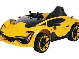 Машинки и техника - Электромобиль (NEW) JJ757 (жёлтый/yellow), 0