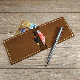 Визитницы и кредитницы - Картхолдер кожаный. Визитница., 0