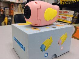 Фотоаппараты - Детская цифровая фото и видео камера Птичка A100, 0