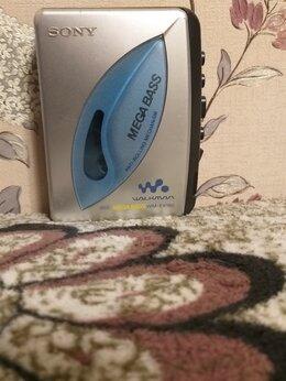 Музыкальные центры,  магнитофоны, магнитолы - Кассетный аудио плеер sony walkman, mega bass,…, 0
