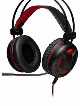 Компьютерные гарнитуры - Гарнитура игровая Redragon Minos красный+черный ка, 0