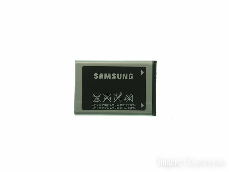 Аккумулятор для Samsung X200 , (AB463446BU) 800 mAh по цене 240₽ - Аккумуляторы, фото 0