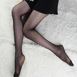 Колготки и носки - Летние тонкие колготки для офиса и не только, р.3, 0