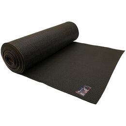Ковры и ковровые дорожки - Напольное покрытие ПВХ Sindbad, 0,9м*10м*5мм, черное, рулон, 0
