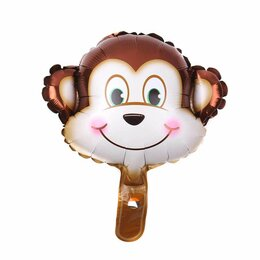 Новогодний декор и аксессуары - Голова обезьяны, 0