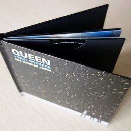 Музыкальные CD и аудиокассеты - Queen + Paul Rodgers - The Cosmos Rocks (CD+DVD) - Компакт Диск, 0