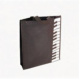 Сумки - Rin HY-C024 Сумка сувенирная «Клавиши», черная, 0