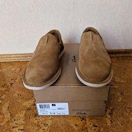 Туфли - Замшевые лоферы Clarks, 0