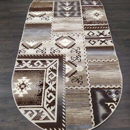 Ковры и ковровые дорожки - Турецкий овальный ковёр 3139А,L.Brown/L.Brown, 0