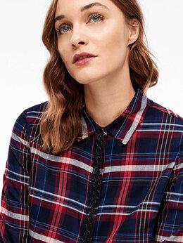 Блузки и кофточки - Блузка S.Oliver Германия синяя цветная новая, 0
