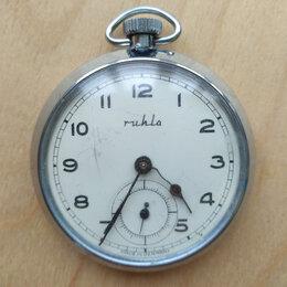 Карманные часы - Карманные часы Ruhla UMF 83, 0