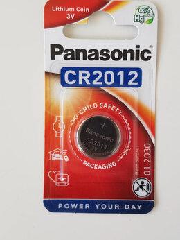 Батарейки - Батарейка CR2012 3V Panasonic Lithium Power , 0