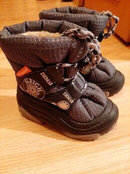 Обувь для малышей - Детские ботинки, зимние на овчине, 0