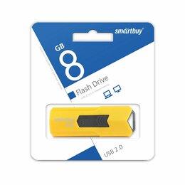 USB Flash drive - Память USB Flash 8 GB SmartBuy Stream SB8GBST-Y, 0