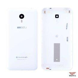 Корпусные детали - Задняя крышка для Meizu M2 Note белая, 0
