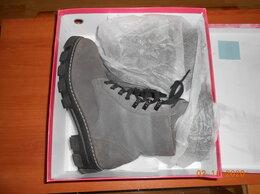 Ботинки - Ботинки новые женские, серые, замшевые 39 размер…, 0